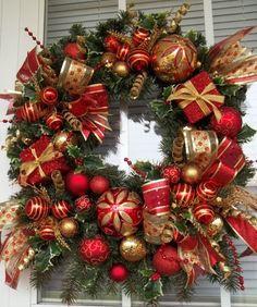 Mejores 22 Imagenes De Coronas Navidad En Pinterest En 2018 Xmas - Coronas-navidad