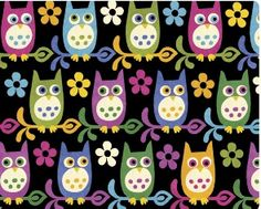 Owl paper themes