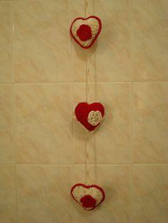 Mobile corações...