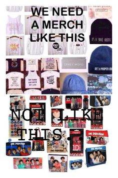 This is the One Direction merch we need ♡ #onedirection GET THIS TRENDING POST ON MOST POPULAR 1D BOARDS