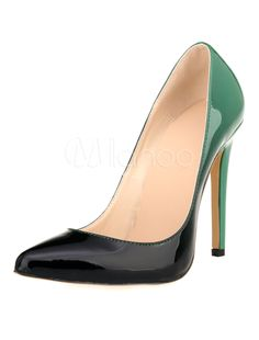 Women's High Heels Pointed Ombre Slip-on Pumps