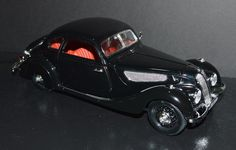 Guiloy 1/18 Die Cast Car 1937 BMW 327 Black, Red interior VERY RARE! #Guiloy #BMW