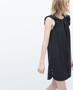 DRESS WITH FRILLY SLEEVES-View all-Dresses-WOMAN | ZARA United States