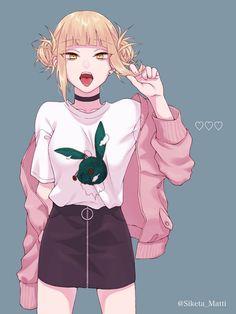 Cosplay Anime Himiko Toga - Boku No Hero Academia art,so cute. My Hero Academia Memes, Buko No Hero Academia, Hero Academia Characters, My Hero Academia Manga, Anime Characters, Animes Yandere, Yandere Anime, Chica Anime Manga, Fanarts Anime