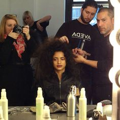 Wired Exclusive:  Aveda Hair for Ann Yee - #NYFW