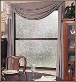 Everleaf Static Cling Privacy Window Film - Frosted Glass Covering -- prettier than that contact-paper stuff Window Privacy, Ideas Hogar, Window Films, Static Cling, White Leaf, Window Coverings, Window Treatments, Shower Enclosure, Dream Decor