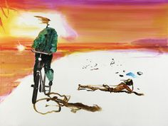 JOHN KØRNER http://www.widewalls.ch/artist/john-korner/ #contemporary #art #abstractart #figurativeart #fineart #painting #installation