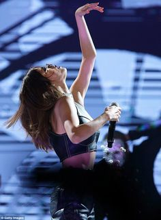 Hit the lights: The most followed person on Instagram named her current tour after her second studio album, which she released in 2015