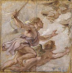 Erasmo Quellinus II. La persecución de las Harpías S.XV. Museo del Prado.