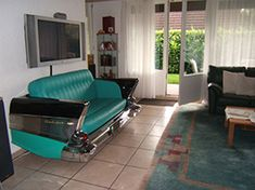 1957 Chevrolet Bel Air  Auto Sofa