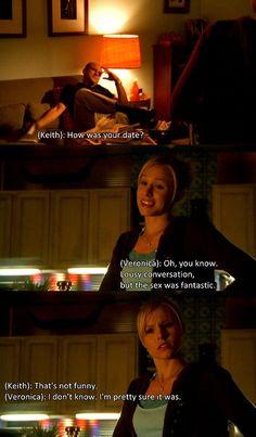 Veronica Mars    Love this conversation!