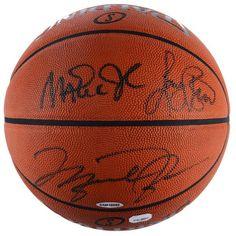 Larry Bird, Michael Jordan, and Magic Johnson Fanatics Authentic Autographed Triple Spalding Pro Basketball - $2999.99