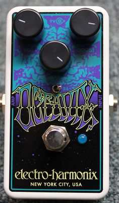 Electro-Harmonix Octavix Octave Fuzz Guitar Effect Pedal