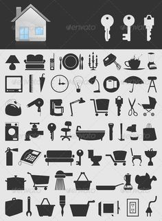 VECTOR DOWNLOAD (.ai, .psd) :: http://jquery.re/pinterest-itmid-1000553620i.html ... House icons2 ...  design, furniture, hours, house, illustration, key, lamp, mixer, mug, package, pan, phone, scissors, shower, sofa, teapot, toilet, tv, umbrella, vector, ware  ... Vectors Graphics Design Illustration Isolated Vector Templates Textures Stock Business Realistic eCommerce Wordpress Infographics Element Print Webdesign ... DOWNLOAD :: http://jquery.re/pinterest-itmid-1000553620i.html