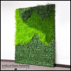 Lush Indoor Artificial Living Wall 72in.L x 48in.H $1,007.85