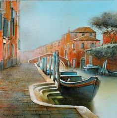 Marc Chapaud 1941 | French landscape painter | Tutt'Art@ French School, Painting Still Life, Auras, French Artists, Michel, City Lights, Art Pieces, France, Fine Art