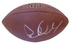 Pete Carroll Autographed NFL Wilson Composite Football, Proof Photo