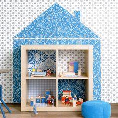 IKEA Hack - Turn KALLAX bookshelf into a dollhouse | Mum's Grapevine