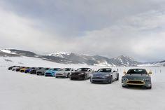 2015 Aston Martins On Ice