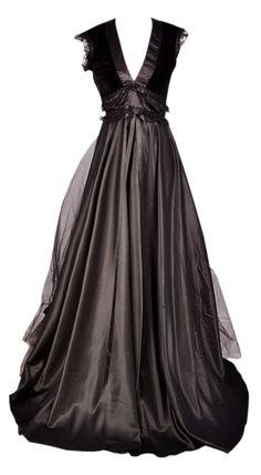 black fairytale gown <3