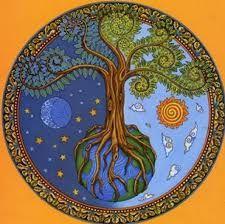 tree of life mandala Mandala Art, Tree Of Life Art, Tree Art, Wiccan, Pagan, Stars And Moon, Sun Moon, Sacred Geometry, Mosaic