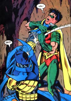 Tim Drake and Jean Paul Valley in Robin #1