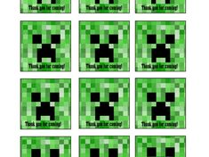 minecraft thank you tags