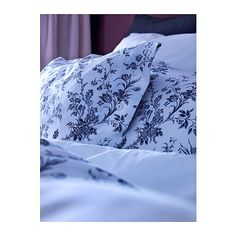 ALVINE KVIST Quilt cover and 2 pillowcases IKEA Percale; crisp, cool bedlinen densely woven from fine yarn.