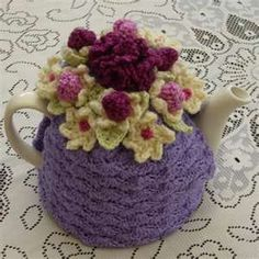 crochet tea cozy cute