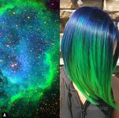 Galaxy Hair Is the Awesome New Trend Everyone's Talking About   - Cosmopolitan.com
