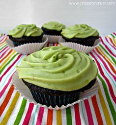Avocado frosting tastes almost like citrus and pairs beautifully with chocolate cakes. Click through for 8 more recipes with secret healthy ingredients