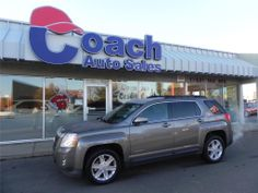 Check out this 2012 GMC Terrain SLE-2 from Coach Auto Sales for $23,985.  This one is comes in a Mocha Steel Metallic color.  If you are a coffee lover, drive a mocha everyday!