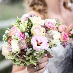 Beautiful wedding bouquet. Be inspired by @theinspirassion