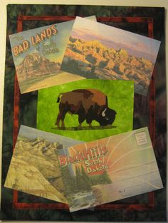 South Dakota Series quilt - Created by Chris Daly in 2008 after a journey to the Black Hills of South Dakota.