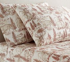 Reindeer Sheet Set #potterybarn whoohooo! can't wait till they get here!