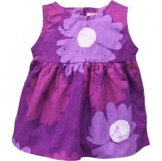 Fair Trade Baby's Purple Flower Dress