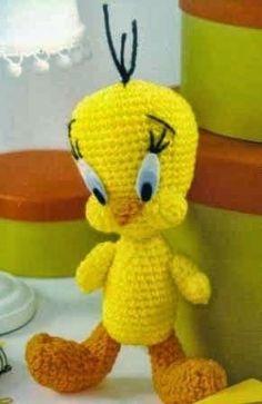 Tweety Bird: FREE crochet pattern in Spanish
