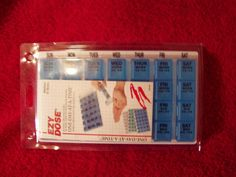 EZY Dose Monthly One-Day-At-A-Time Weekly Medication Organizer Tray - $12.99
