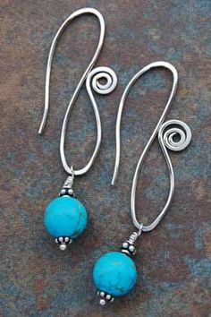 Sterling Silver-Stabilized Turquoise (Nila Ven)