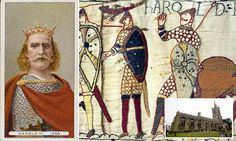 Is King Harold buried underneath a Hertfordshire church?