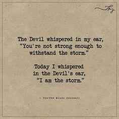 The devil whispered in my ear - http://themindsjournal.com/the-devil-whispered-in-my-ear/