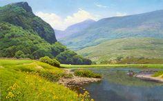 Michael James Smith. British Landscape Artist ~ Blog of an Art Admirer