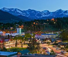 Travel & Leisure named Estes Park, Colorado #2 of America's Favorite Towns! Have you visited Estes Park?