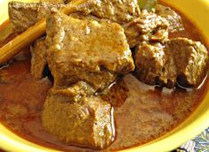 MzTasty's Kitchen, Savor The Flavor: Beef Rendang/Dry Beef Curry Shrimp Recipes, Curry Recipes, Beef Recipes, Beef Rendang Recipe, Panlasang Pinoy Recipe, Pork Curry, Beef Round, Dried Shrimp