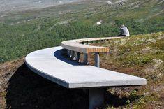 belvedere paysage | UrbA // ActU: Un belvedere sur les montagnes Jotunheimen par le bureau ...