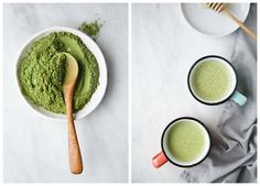 Creamy Matcha & Moringa Latte // The Green Life