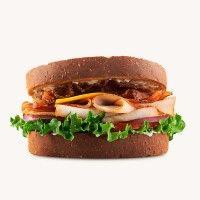 Arby's Roast Turkey Ranch & Bacon Sandwich