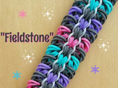 "New ""Fieldstone"" Hook only Bracelet/How To Tutorial"