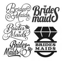 Wedding Bride Sports Tail Svg Cuttable Design