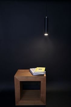 The new black pendant. Shown with GU10 LED